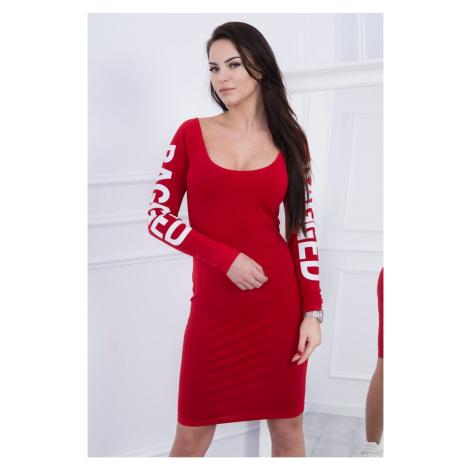 Dress Ragged red Kesi
