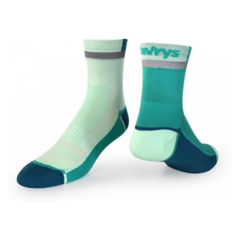 Ponožky Vavrys Trek Cyklo 2-pack zelená