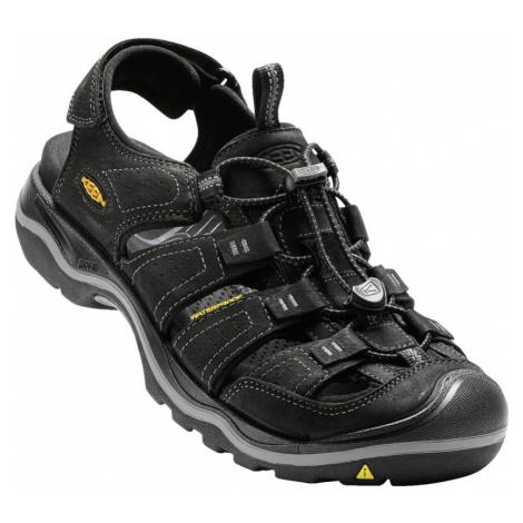 KEEN RIALTO II M Pánské sandály 10005826KEN01 black/gargoyle