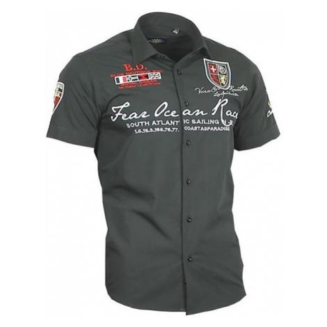 BINDER DE LUXE košile pánská 80601 krátký rukáv