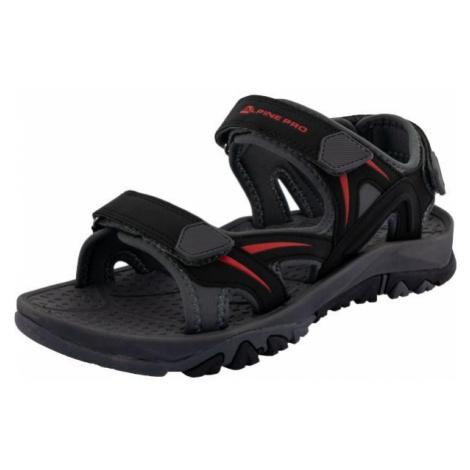 ALPINE PRO MAET černá - Pánská letní obuv