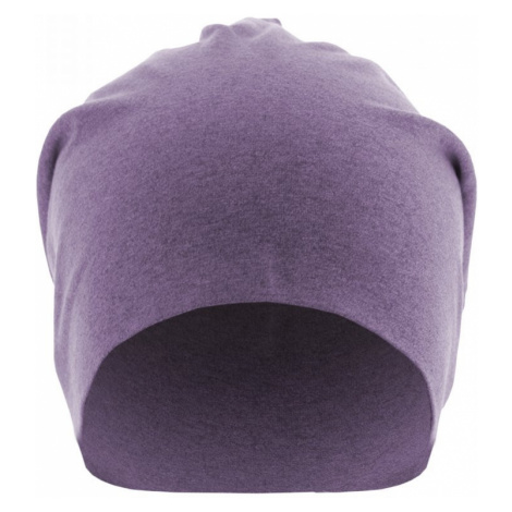Heather Jersey Beanie - purple Urban Classics