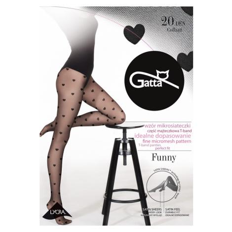 Dámské punčochové kalhoty FUNNY -08 černá Gatta