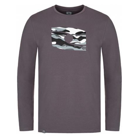 LOAP ALBE Pánské triko dlouhý rukáv CLM2070T47T šedá