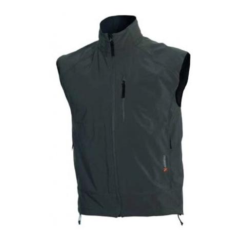 Warmpeace pánská vesta Hill, černá