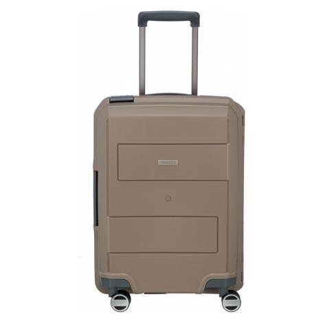 Travelite Kabinový kufr Makro 4w S Taupe 73647-40 39 l