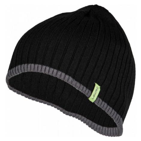 Lewro BOBY černá - Chlapecká pletená čepice