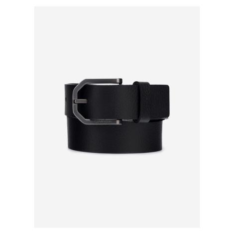Eessential Plus Faceted Pásek Calvin Klein Černá