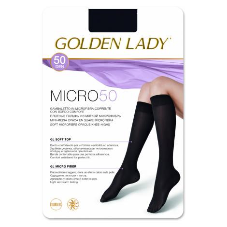 Dámské podkolenky Golden Lady Micro 50 den černá univerzální
