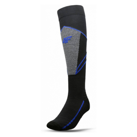 Pánské lyžařské ponožky H4Z20-SOMN002-23S-39 DARK GREY 4F