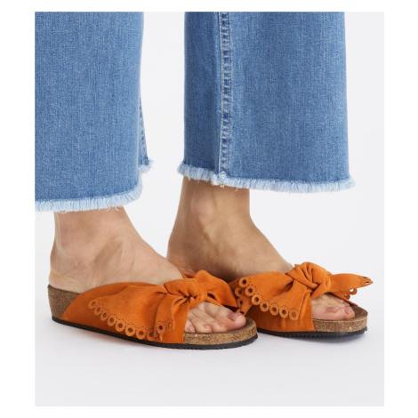 Pantofle Odd Molly Take A Bow Slipper - Oranžová