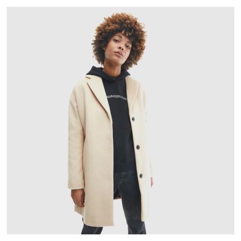 Calvin Klein dámský béžový kabát