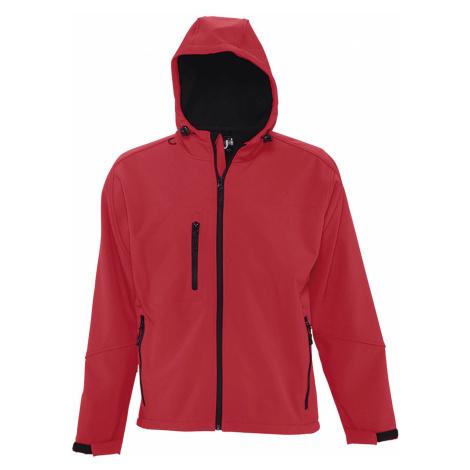 SOLS Pánská softshellová bunda REPLAY MEN 46602162 Pepper red SOL'S