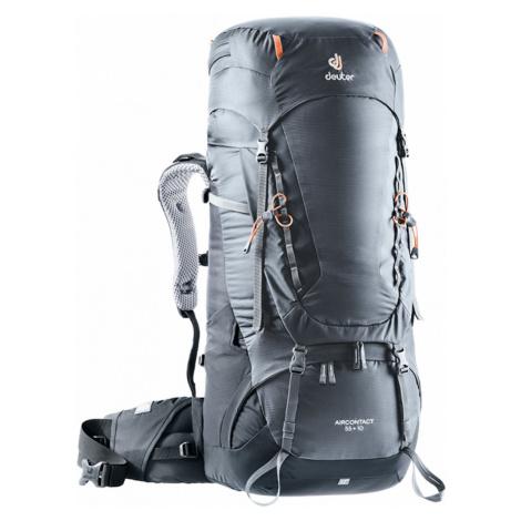 Expediční Batoh Deuter Aircontact 55 + 10 Graphite-Black