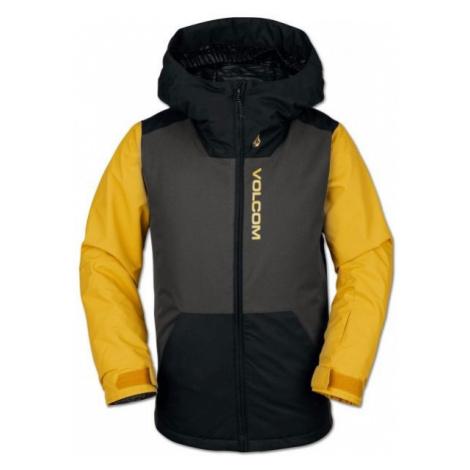 Volcom VERNON INS JACKET černá - Chlapecká lyžařská/snowboardová bunda