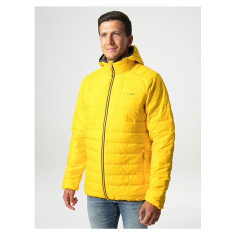 IRSOM men's winter jacket for the city yellow LOAP
