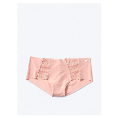 Victorias Secret PINK tělové kalhotky Lace Trim No-show Hipster Victoria's Secret