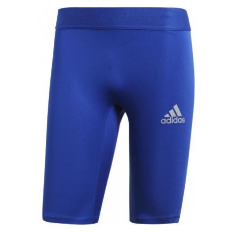 adidas ALPHASKIN SPORT SHORT TIGHTS M modrá - Pánské spodní trenky