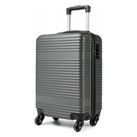 Šedý cestovní kvalitní malý kufr Reiner Lulu Bags