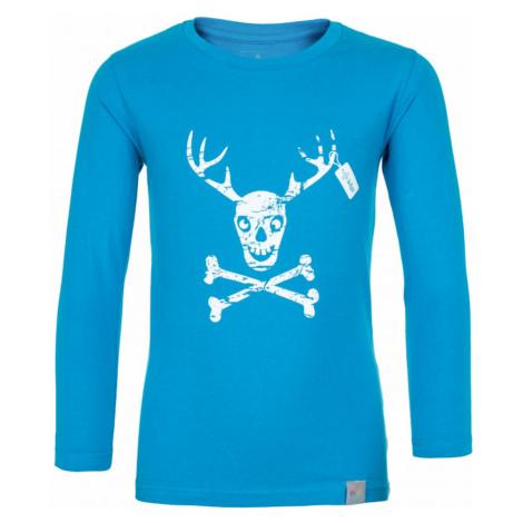 Boys' cotton t-shirt Hardy-jb blue - Kilpi
