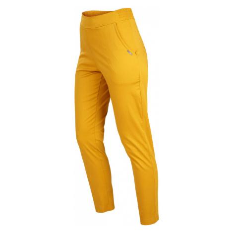 LITEX Kalhoty dámské do pasu 5B155108 hořčicová