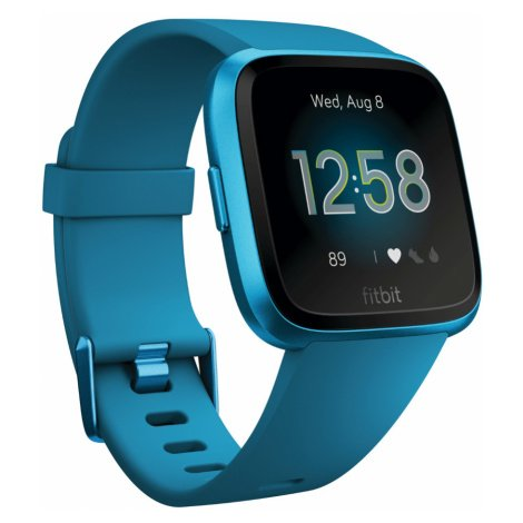 Chytré Hodinky Fitbit Versa Lite Marina Blue/marina Blue Aluminum