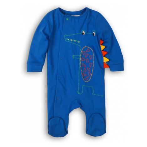 Overal kojenecký bavlněný 2pack, Minoti, Turtle 1, modrá