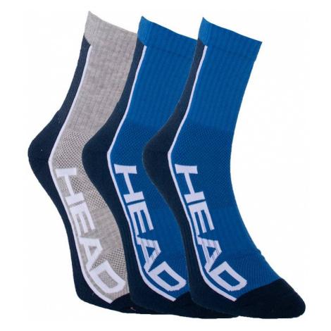 3PACK ponožky HEAD vícebarevné (791010001 001) S