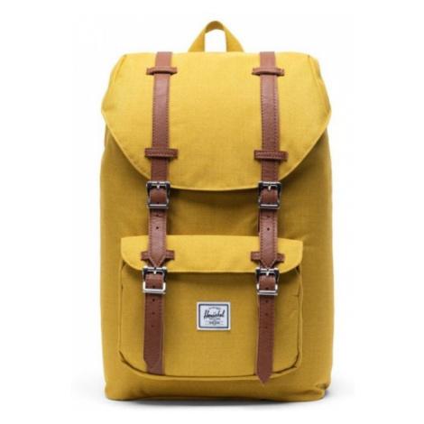 Herschel Žlutý retro batoh HERSCHEL LITTLE AMERICA MID