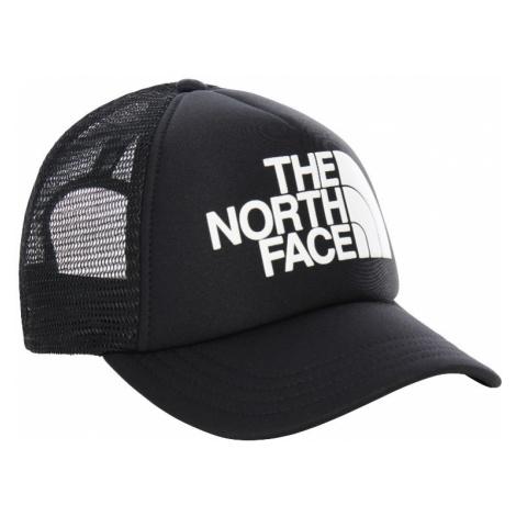 Kšiltovka The North Face Youth Logo Trucker Black