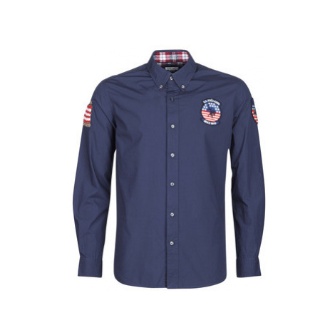 U.S Polo Assn. USA PATCH SHIRT BD Modrá U.S. Polo Assn