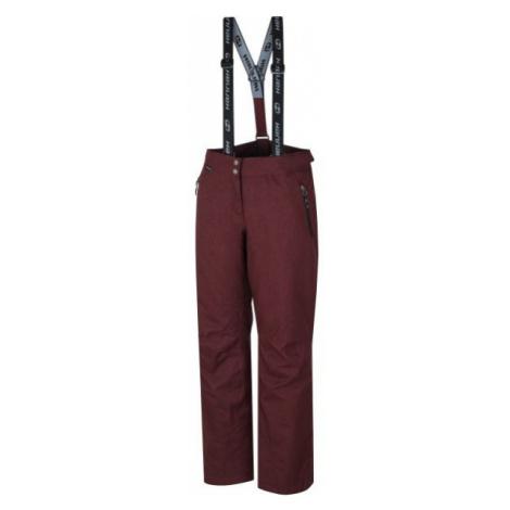 Hannah DAMIR vínová - Dámské lyžařské kalhoty