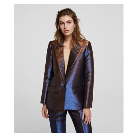 Sako Karl Lagerfeld Iridescent Blazer - Modrá