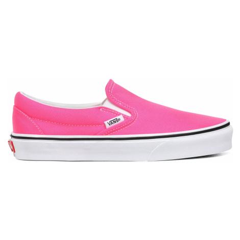 Vans Ua Classic Slip-On (Neon)Knockout Pnk/Tr Wht růžové VN0A4U38WT6