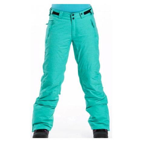 Kalhoty Meatfly Pixie mint heather