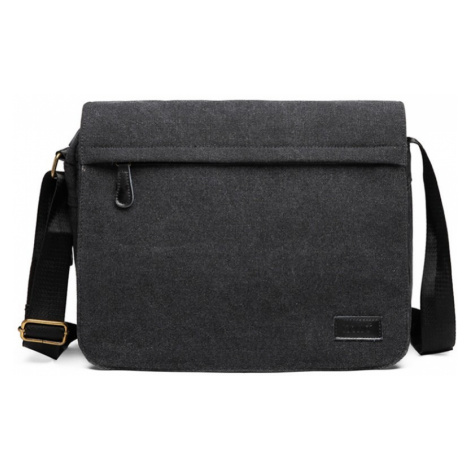 Černá pánská prostorná crossbody taška Pagi Lulu Bags