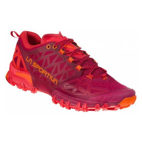 Dámské boty La Sportiva Bushido II Woman beet/garnet