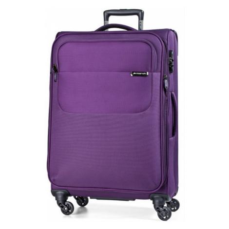 March Střední cestovní kufr Carter SE 79 l - fialová