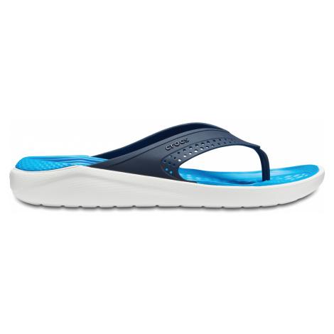 Crocs LiteRide Flips Navy/White