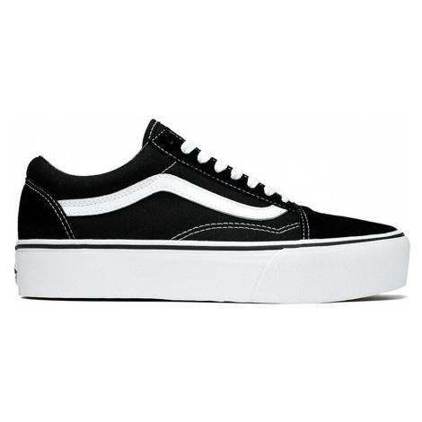 Vans Ua Old Skool Platform Black White černé VN0A3B3UY28