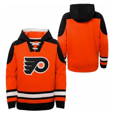 Dětská hokejová mikina s kapucí Outerstuff Ageless must have NHL Philadelphia Flyers