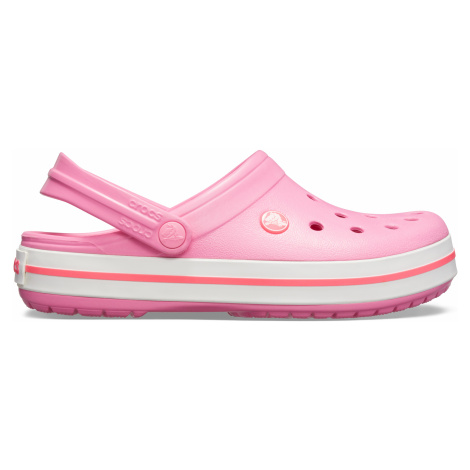 Crocs Crocband Pink Lemonade/White