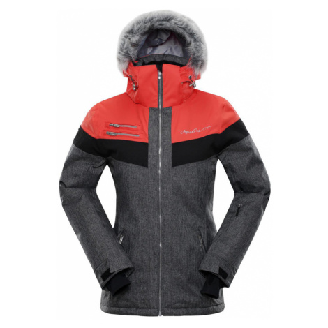 ALPINE PRO DORA 5 Dámská lyžařská bunda LJCM286473 oranžová