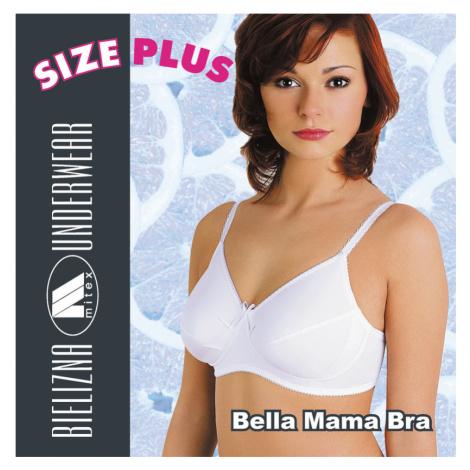 Dámská těhotenská podprsenka Bella Mama Bra bílá Mitex