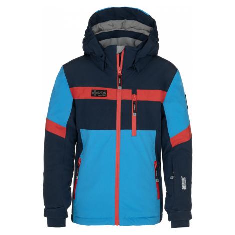 KILPI Chlapecká lyžařská bunda PONTE-JB NJ0001KIDBL Tmavě modrá