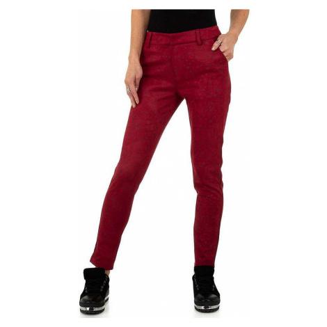 Dámské kalhoty se vzorem Drole de Copine
