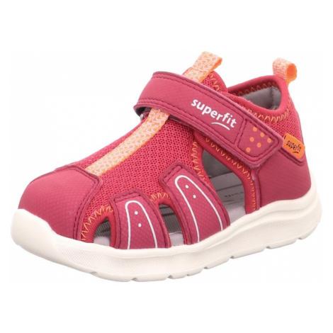dětské sandály WAVE, Superfit, 1-000478-5000, červená