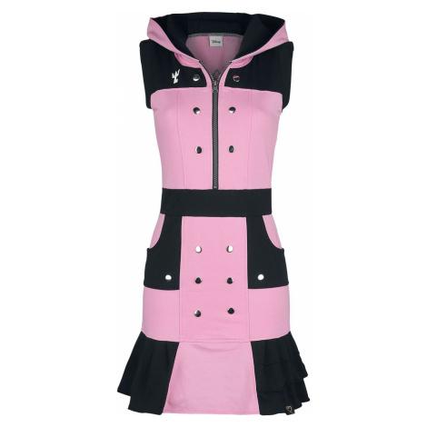 Kingdom Hearts Kairi Šaty ružová/cerná