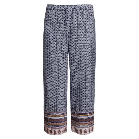 Kalhoty Deha EXPRESSION vzorkování|tmavomodrá