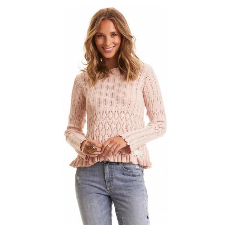 Svetr Odd Molly Pretty On The Loose Sweater - Růžová
